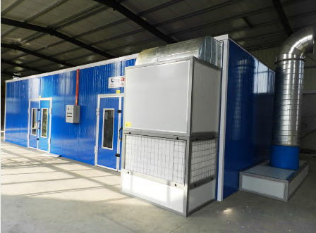 Furniture spray booth LY-100