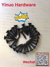 China Exporter and Factory Drywall Screw Black /Grey Phosphate Fine /Coarse Thread