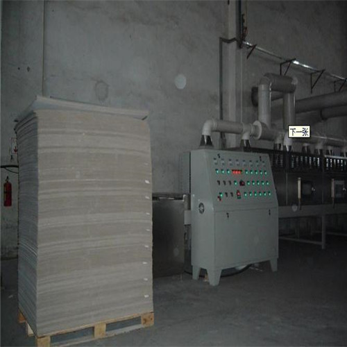 Paper Core Horizontal Microwave Belt Dryer