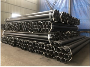 Seamless steel pipe in API 5L, ASTM A53, ASTM A106 SMLS pipe