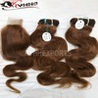Wholesale Unprocessed Raw Human Virgin Indian Hair