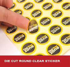 Die Cut Sticker