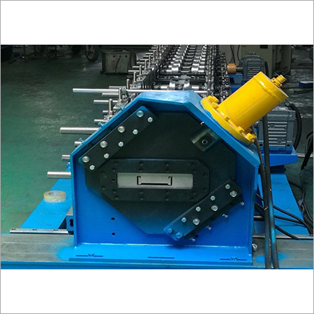 Automatic Colored Steel CZ Purlin Roll Forming Machine