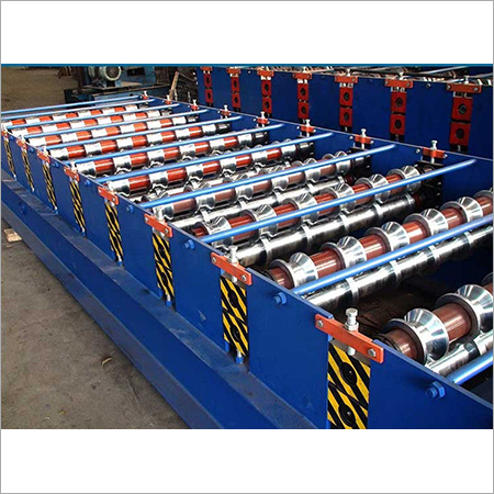 Solid Shaft Roof Roll Forming Machine