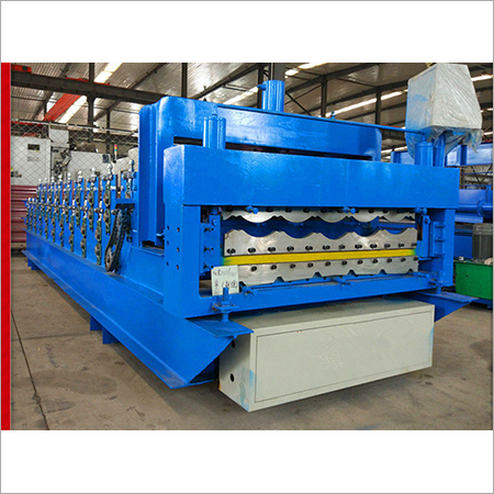 Glazing Steel Double Layer Roll Forming Machine