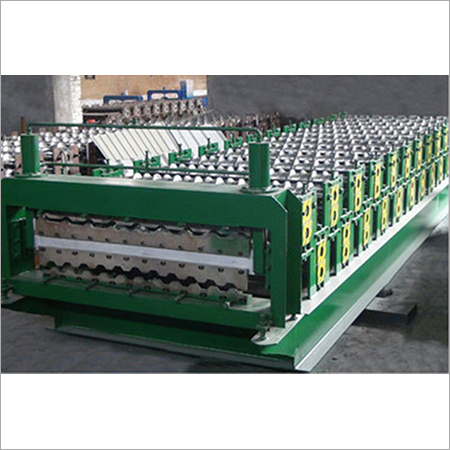 Chain Driving Double Layer Roll Forming Machine