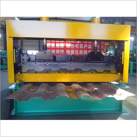 Aluminum Glazed Tile Roll Forming Machine