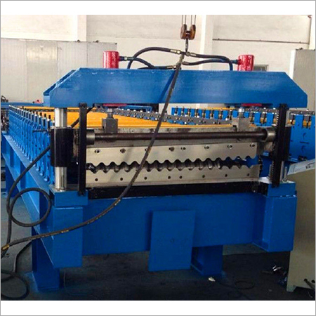 Mold Forging Currogated Tile Cutter Machine