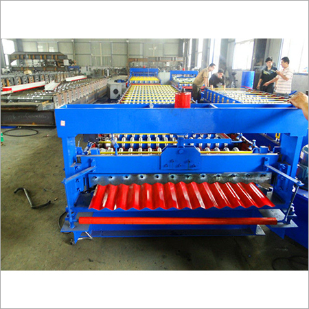 High Speed Corrugated Iron Sheet Making Machine