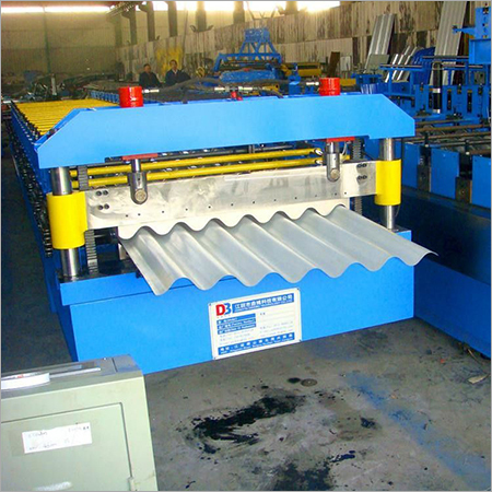 Solid Shaft Roof Corrugated Roll Forming Machine