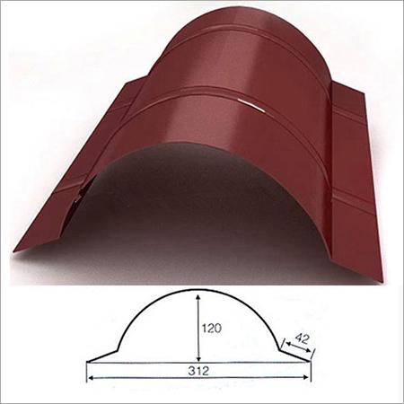 Cold Roll Metal Roof Ridge Cap Forming Machine