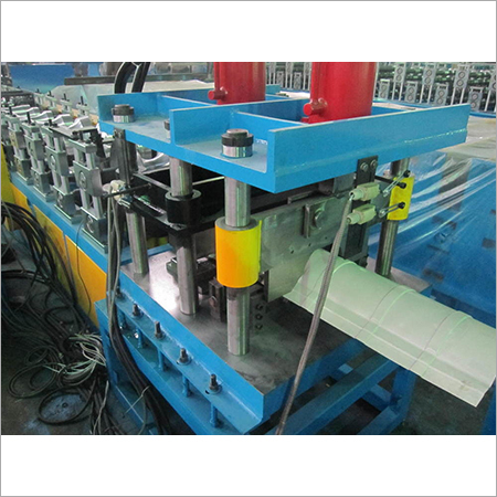 Low Noise Ridge Cap Roll Forming Machine