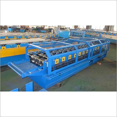 Automatic Galvanized Ridge Cap Tile Forming Machine