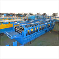 Automatic Galvanized Ridge Cap Tile Forming Machine