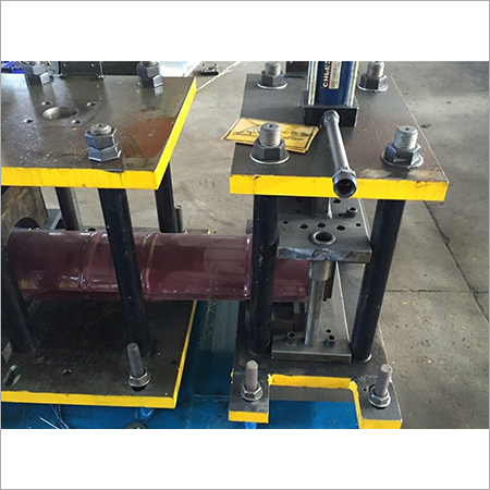 High Efficiency Ridge Cap Roll Forming Machine