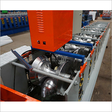 Precision Ridge Cap Roll Forming Machine