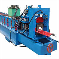Aluminum Ridge Cap Metal Roofing Roll Forming Machine