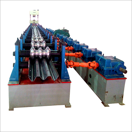 12 Tons Weight Highway Guardrail Roll Forming Machine