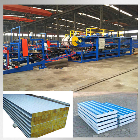 Steel Profile EPS Sandwich Panel Roll Forming Machine