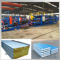 Steel Profile EPS Sandwich Panel Roll Forming Machine
