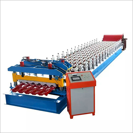 High Speed Arc Glazed Tile Roll Forming Machine