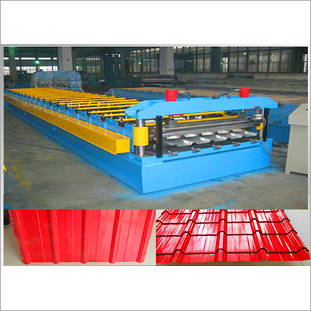 Glazed Color Roof Sheet Roll Forming Machine
