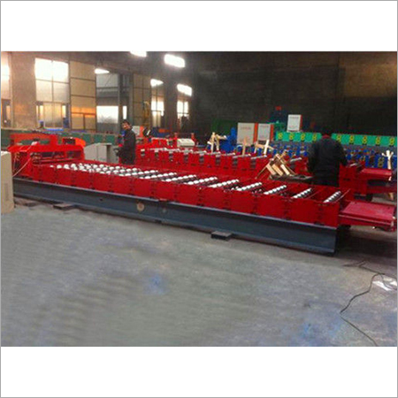 Building Material Glazed Tile Roll Forming Machine