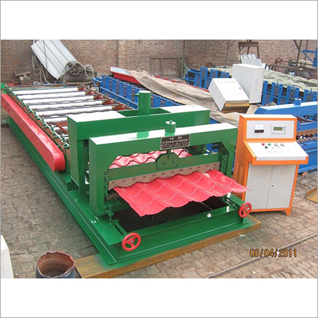 Colored Glazed Tile Machine