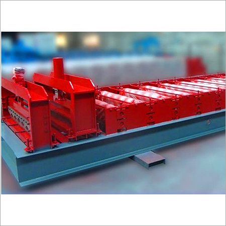 Chain Transmission Driving Cold Roll Forming Machine