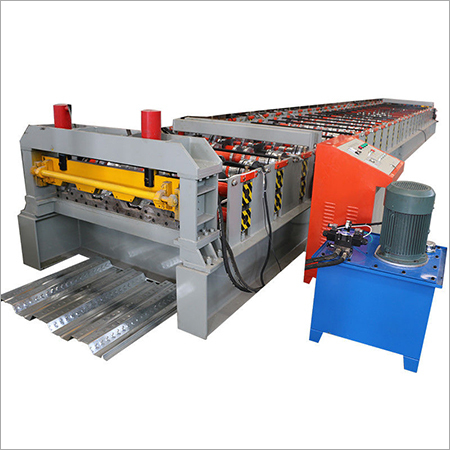 Floor Galvanized Steel Decking Panel Roll Forming Machine