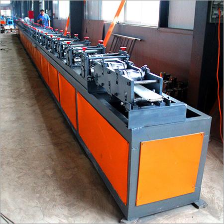 PPGI PU Foam Roller Shutter Door Roll Forming Machine