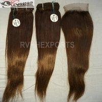100% Raw Peruvian Human Hair Bundle Single Drawn 9A Grade HAIR