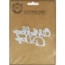 Wedding Day Metal Cutting Dies