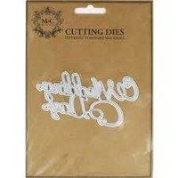 Wedding Day Metal Cutting Dies
