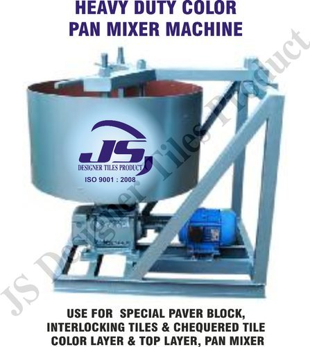 Heavy Duty Pan Mixer Machine