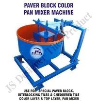 Paver Block Color Pan Mixer