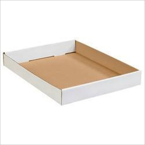 Corrugated White Paper Tray