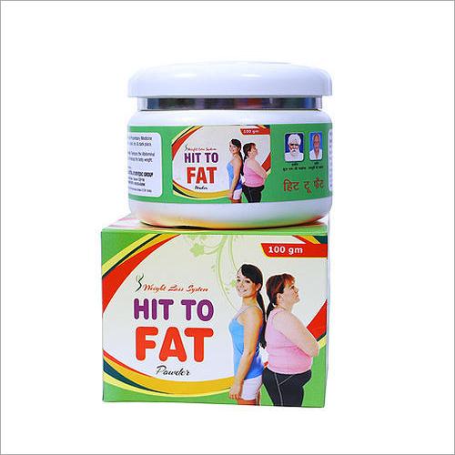 Hit To Fat Ayurvedic Weight Loss Powder