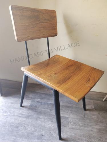 Arm Rest Wooden Mango Chair