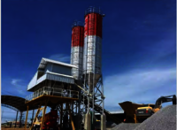 HZS50 concrete mixing plant on sale