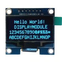 1.3 7pin OLED SPI/IIC Yellow-Blue