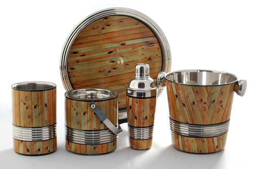 Wood Designed Bar set
