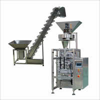 4 Head Linear Weigher With Bagger For Poha Product Packing Machine