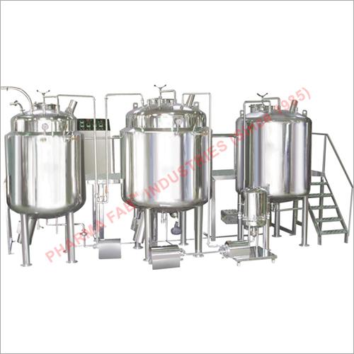 Liquid Syrup Manufacturing Machine