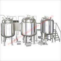 Liquid Syrup Manufacturing Machine