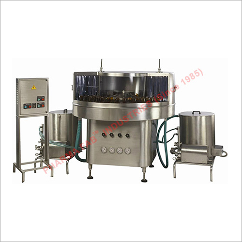 Steel Rotary Bottle Washing Machine