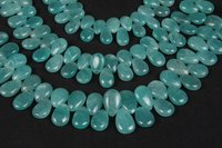 Amazonite Plain Pears Beads