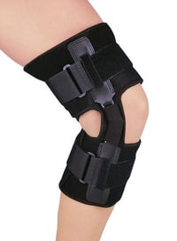 Knee Support with Hinges