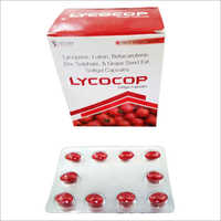 Lycopene Lutein Betacarotene Softgel Capsules