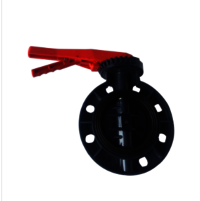 UPVC butterfly valve Handle Lever type